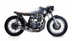 Custom Motorcycle - 1975 Honda CB550 - E3