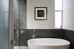 Noe-Valley-Residence-Bach-13. Am liking that the bathroom hasn't been fully tiled. I am so over that!
