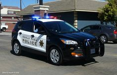 Ford Escape Police Vehicle Police Cars Police Emergency Vehicles