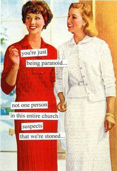 No one gets Sunday service like Anne Taintor!