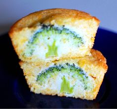 Broccoli corn muffins and other vegan, green, St. Patrick's Day foods.