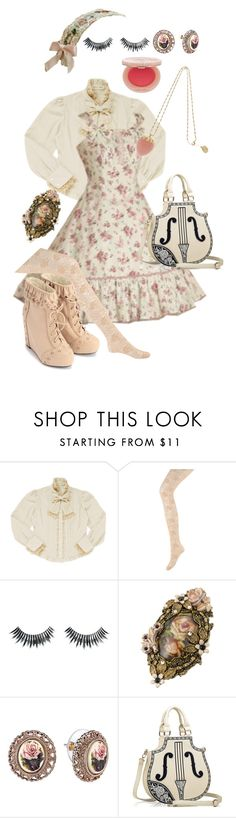 """""""Untitled #24"""" by beeyuzu ❤ liked on Polyvore featuring Forever 21, Paul & Joe, Napoleon Perdis and 1928"""