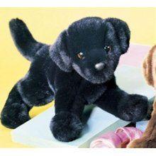 black lab stuffed animal