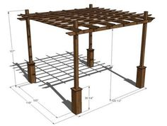 pergola from ana white