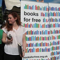 Books for free at London Green Fair 2012 by healthy_planet, via Flickr