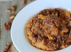 Sweet Potato Casserole. It's not just a scrumptious side dish, but it can also be a delicious dessert