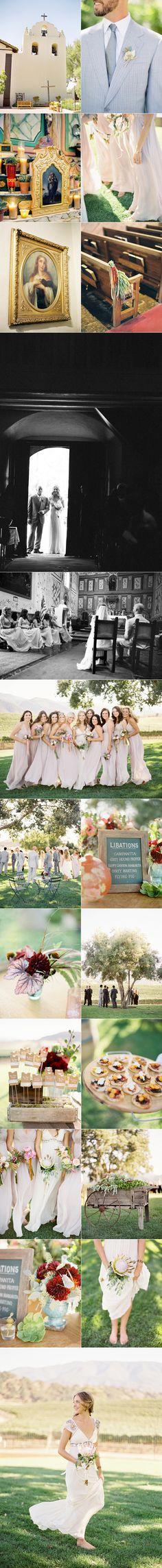 Santa Ynez Vineyard Wedding II - Once Wed