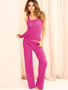 Signature Cotton Tank Pajama - Victoria s Secret Victoria Secret Pink 6a8149181