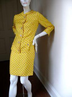 Vintage 1960s Mod Dress