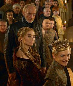 Joffrey, Cersei, Tywin