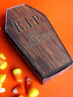 coffin box template