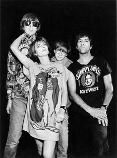 Sonic Youth -  the original hipsters