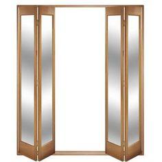 Image of Folding Doors, IFS-4MMAR Marston 4 Door Set, Frame & Glass