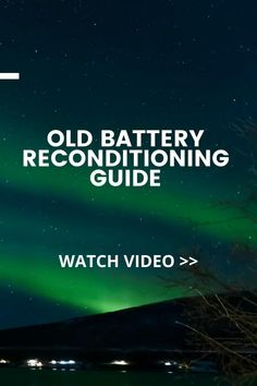 How to recondition batteries Cordless Drill Batteries, Ryobi Battery, Rv Battery, Off Grid Batteries, Lead Acid Battery, Car Window Repair, Battery Hacks, Car Rental Deals, Battery Recycling