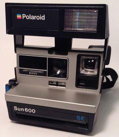 Polaroid Sun 600 SE by TroutsAntiques on Etsy, $12.00