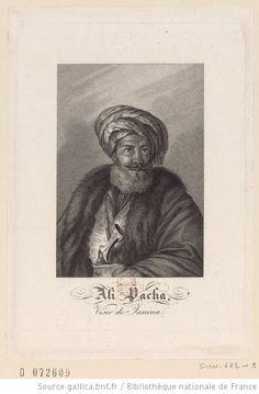 Ali Pacha, Visir de Janina. Portraits, Bnf, Albania, Postcards, Egypt, Ottoman, Paintings, Movie Posters, Pictogram