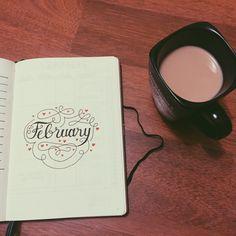 Bullet Journal Journey — It's February