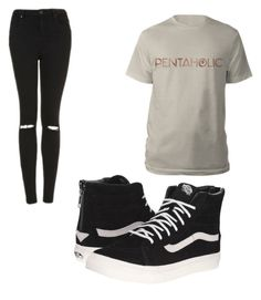 """""""Untitled #91"""" by tia12502 on Polyvore featuring Topshop and Vans"""