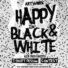 Artwork T-shirt Contest #tees #tshirtcontest #contest #artworkblackandwhite
