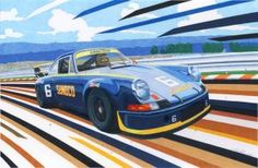 Sunoco porsche 911 RSR by klem