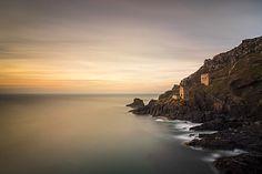 Crown Tin Mines, Botallack, UNESCO World Heritage Site, Cornwall, England. Photographer: Bill Ward