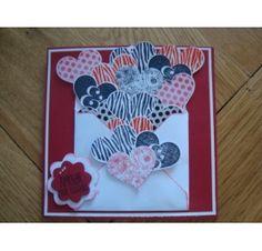 Réalisez une carte avec un coeur en relief pour la St Valentin : Sébastien D