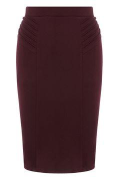 Shopping Dress for less faldas lápiz: Burdeos de Dorothy Perkins   Galería de fotos 4 de 39   Vogue
