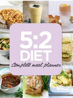 Are you on the 5:2 diet? Fasting days don't have to be boring with the 5:2 Meal Planner App