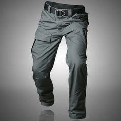 Mens Tactical Waterproof Pants Hiking Camping Outdoor Pants