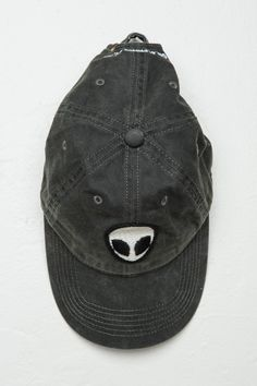 Brandy ♥ Melville | Katherine Alien Patch Cap - Accessories  { Follow me @slayingchxndria }