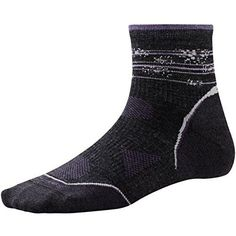 Smartwool Women's PhD Outdoor Ultra Light Pattern Mini Socks - Past Season * Awesome product. Click the image : Plus size Activewear