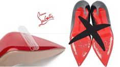 During Corona Virus Times and we are all at home with time on our hands, now would be a great time to protect your Louboutins from wear & tear. Louboutin Shoes, Christian Louboutin, Red Bottom Heels, Designer Heels, Red Bottoms, Make It Yourself, Things To Sell, Louboutin Pumps