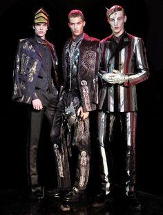 Male Fashion Trends: 'Royal Infantry': Editorial por Marco Marezza para L'Officiel Hommes Tailandia Fall/Winter 2014