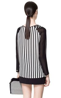 COMBINATION STRIPED TOP