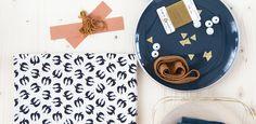 ►•◄ Tissu Fifi Mandirac pour Atelier Brunette Fabric