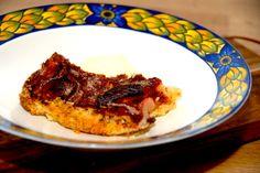 Æblecrumble (nem kage med æbler)