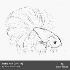 "Woot! I got a variant print, ""Betta Fish [Sketch]"", from Sherwyn's Forest by @hochulia on @NeonMob - Check it out!"