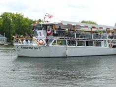 take a nice cruise on The Kawartha Spirit, through lock 34, Fenelon Falls, City of Kawartha Lakes, Ontario