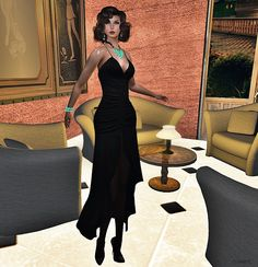 Virtual NightMare Styling: GLITTER - Julie Gown