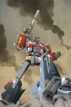 Optimus Prime by ~SebasP on deviantART