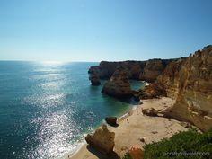 Praia de Marinha, Algarve #Portugal #beach