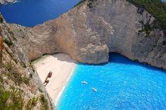 Navagio beach....