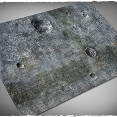 miniature games terrain mat city ruins 4×6