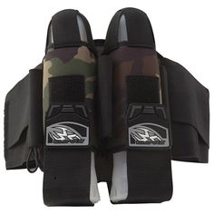Empire 2012 TW 2+5 React Paintball Harness - Breed Woodland Camo. Available at UltimatePaintball.com