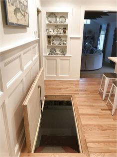 trap door designs cellar trap doors mezzanines floor ideas are usually built to add some more areas for vital guillotine hog trap door plans Basement Entrance, Basement Layout, Basement Windows, Basement Stairs, Basement Flooring, Walkout Basement, Basement Ideas, Attic Stairs, Basement Plans