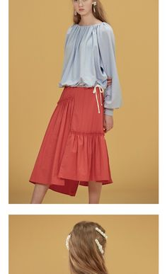 Ruffle Skirt, Kurti, Ballet Skirt, Silhouette, Fashion Outfits, Lady, Projects, Design, Olive Oil
