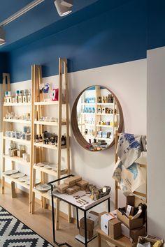 zalo, souvenir, shop, heraklion, minoan, museum, design, blue, wood, crete, leventakis