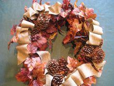 Wreath re-make for Carla