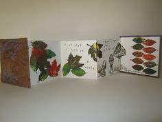 'Autumn' Handmade Lino-printed Book | Flickr - Photo Sharing!