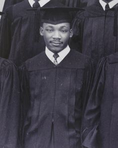 Martin Luther King Jr. at Morehouse College commencement.